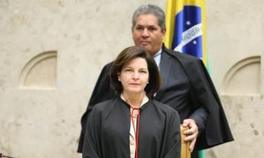 Primeiro dia da nova Procuradora-geral da República, Raquel Dodge, no plenário do Supremo Tribunal Federal Foto: Ailton de Freitas / Agência O Globo