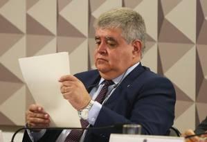 Deputado Carlos Marun (PMDB-MS), relator da Comissão Parlamentar Mista de Inquérito (CPMI) da JBS - 20/09/2017 Foto: Givaldo Barbosa / Agência O Globo