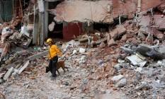 Dois brasileiros ficaram feridos durante terremoto na Cidade do México Foto: GINNETTE RIQUELME / REUTERS