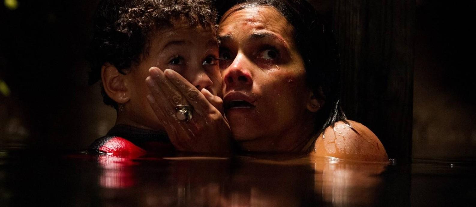 Cena do filme 'O sequestro' Foto: Reprodução