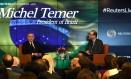 Em entrevista a Reutres, Temer diz que combate à corrupção melhora ambiente de negócios no Brasil Foto: DARREN ORNITZ / REUTERS