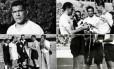 Varela foi homenageado pela seleção uruguaia Foto: Divulgação