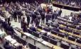Votação da reforma política na Câmara dos Deputados Foto: Jorge William / Agência O Globo