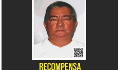 Recompensa é oferecida por informações sobre Mozar Foto: Divulgação/Portal dos Procurados