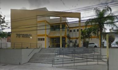 Prisão foi realizada por agentes da 78ª DP (Fonseca) Foto: Reprodução/Google