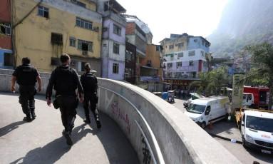 A Favela da Rocinha Foto: Fabiano Rocha / Agência O Globo