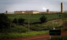 A penitenciária federal de Catanduvas, no Paraná, em foto de 07/12/2010 Foto: Marizilda Cruppe / Agência O Globo