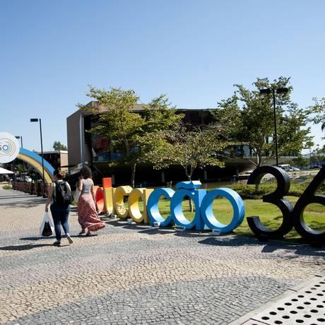 Educação 360 acontece na na Escola Sesc de Ensino Médio, em Jacarepaguá Foto: Adriana Lorete / Agência O Globo