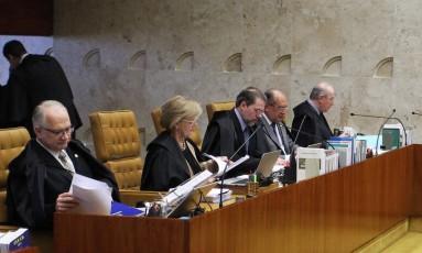 O Plenário do Supremo Tribunal Federal - 20/09/2017 Foto: Ailton de Freitas / Agência O Globo