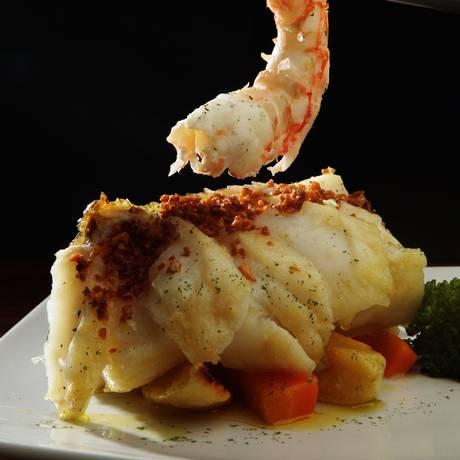 Prato do Gruta de Santo Antônio, indicado na categoria Melhor Restaurante Foto: Berg Silva