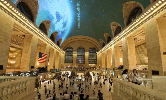 Grand Central Station, em Nova York Foto: LUDOVIC MARIN / AFP