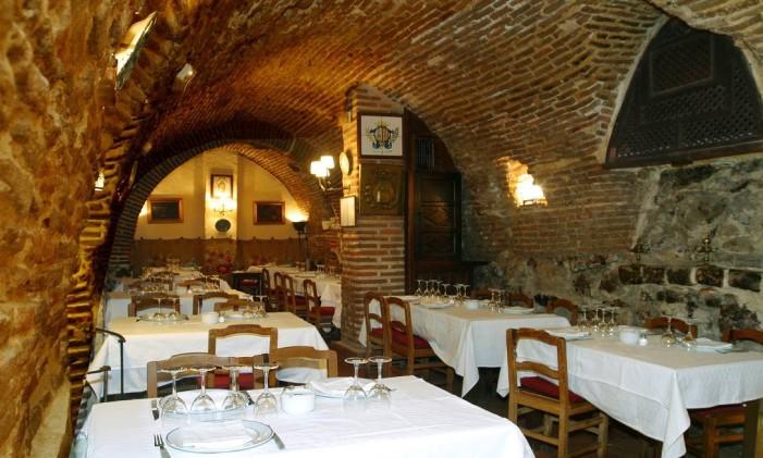 Restaurante Botín, em Madri Foto: Arquivo / Divulgação
