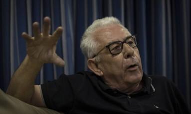 Fernando Horta, presidente da Unidos da Tijuca, será candidato nas eleições do Vasco em novembro Foto: Alexandre Cassiano / Agência O Globo