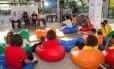 Estudantes participam do Painel Jovem: alunos querem ser ouvidos na formulação de políticas públicas para a área da educação Foto: Andre Lima / Agência O Globo