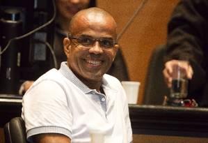 Fernandinho Beira-Mar é um dos 81 presos nascidos no Rio que estão em penitenciárias da União Foto: Fernando Quevedo / Agência O Globo 13/05/2015