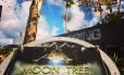 """A """"árvore lunar"""" estava há quatro décadas no Centro Espacial Kennedy Foto: NASA"""