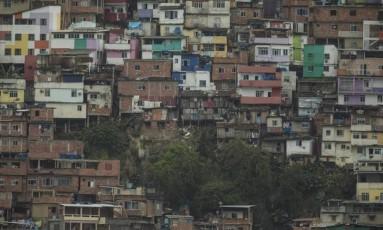 O Morro Dona Marta Foto: Alexandre Cassiano / Agência O Globo / Arquivo