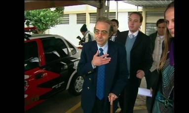 O ex-médico Farah Jorge Farah - 2014 Foto: Reprodução/GloboNews