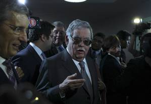 O advogado Mariz de Oliveira, que defendeu o presidente Michel Temer na primeira denúncia de Rodrigo Janot Foto: Jorge William / Agência O Globo / 5-7-17