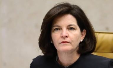 Procuradora-geral da República Raquel Dodge em sessão do STF - 21/09/2017 Foto: Jorge William / Agência O Globo
