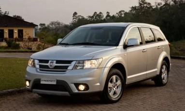 Fiat Freemont: defeito pode levar a abertura desnecessária do airbag Foto: Divulgação