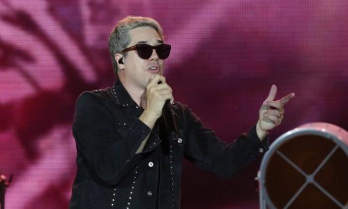 Show do Jota Quest no palco Mundo na segunda semana do Rock in Rio 2017. Foto: Márcio Alves / Agência O Globo