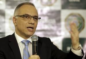 O secretário de Segurança do Rio, Roberto Sá Foto: Gabriel de Paiva / Agência O Globo