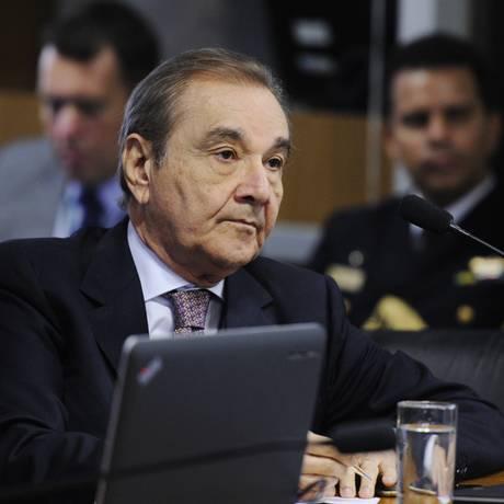O senador José Agripino (DEM-RN), Comissão de Relações Exteriores Foto: Edilson Rodrigues/Agência Senado/25-05-2017