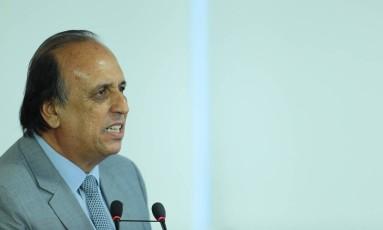 O governador do Rio de Janeiro, Luiz Fernando Pezão Foto: Jorge William / Agência O Globo/05-09-2016