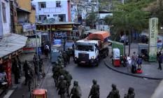 Operação policial na Rocinha Foto: Uanderson Fernandes / Agência O Globo