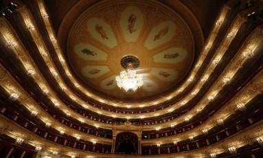 Teatro Bolshoi Foto: Sergei Karpukhin / REUTERS
