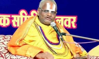 Guru espiritual indiano foi detido sob a suspeita de estupro Foto: Twitter/Reprodução