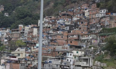 Favela da Rocinha Foto: Alexandre Cassiano / Agência O Globo