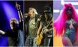 Sexto dia de Rock in Rio teve The Who, Guns N'Roses e Karol Conka Foto: Fotos de Marcelo Theobald, Marcio Alves e Pedro Teixeira