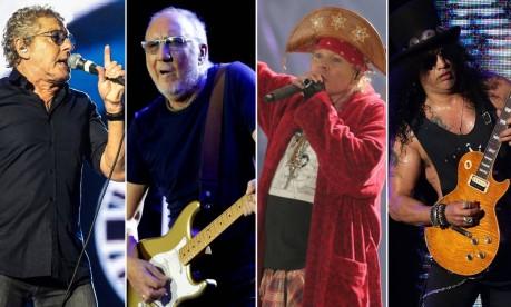 The Who e Guns n' Roses agitaram a penúltima noite do Rock in Rio Foto: Reprodução