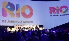 Coletiva no Parque Olímpico, Crivella e Roberto Medina anunciam investimento de R$ 200 milhões para a criação de calendário turístico da cidade Foto: Divulgalção