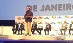 Pezão anuncia criação de fundo de segurança Foto: Ricardo Riguel / O Globo