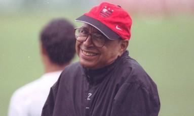 Carlinhos, campeão como técnico e jogador Foto: Sérgio Borges