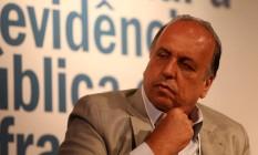 Governador Luiz Fernando Pezão Foto: Custódio Coimbra / Agência O Globo