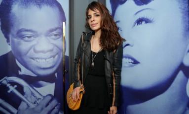 A atriz Maria Ribeiro na festa de lançamento do site do Rio Show no Blue Note, na Lagoa Foto: Márcio Alves / Agência O Globo