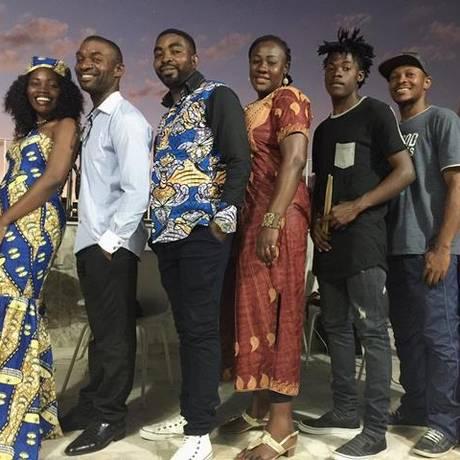 Banda Bomoko, formada por refugiados do Congo, Haiti e Angola. Foto: Divulgação
