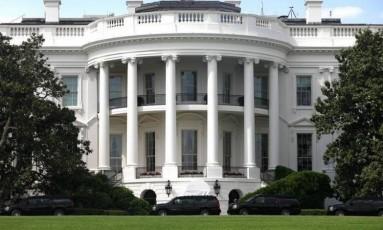 Casa Branca, em Washington Foto: Zach Gibson / REUTERS