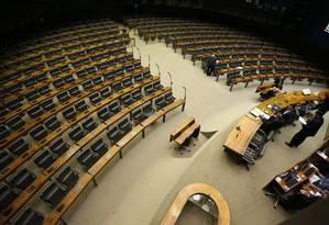 Câmara adia leitura de denúncia contra Temer por falta de quorum Foto: Ailton de Freitas / Agência O Globo