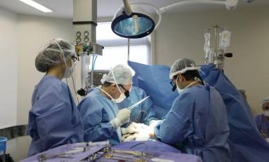 Secretaria de Saúde estima que Rio baterá recorde de cirurgias de transplante de órgãos em 2017 Foto: Divulgação / Secretaria de Estado de Saúde do Rio de Janeiro