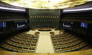 Câmara adia leitura de denúncia contra Temer por falta de quorum - 25/09/2017 Foto: Ailton de Freitas / Agência O Globo