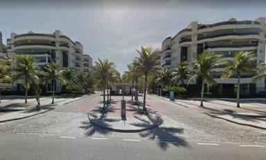 Apartamento duplex com 268m² e 4 vagas de garagem no Condomínio Waterways East será leiloado Foto: Reprodução internet