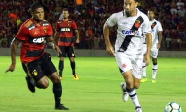 Nenê, autor do gol do Vasco no empate contra o Sport Foto: Carlos Gregório Jr/Vasco/Divulgação