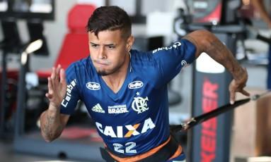 Everton é dúvida para final da Copa do Brasil Foto: Gilvan de Souza / Flamengo / Divulgação