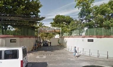 A Cidade da Polícia, de onde saíram as equipes Foto: Google Street View / Reprodução