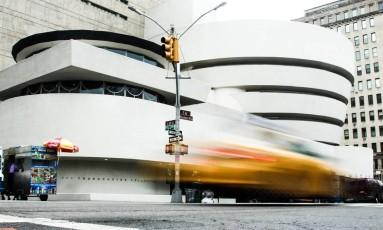 O museu Guggenheim de Nova York decidiu retirar as peças por precaução após ameaças de violência Foto: GUGGENHEIM/FACEBOOK